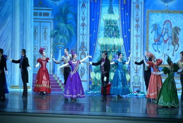 Monday night's Great Russian Nutcracker performance.