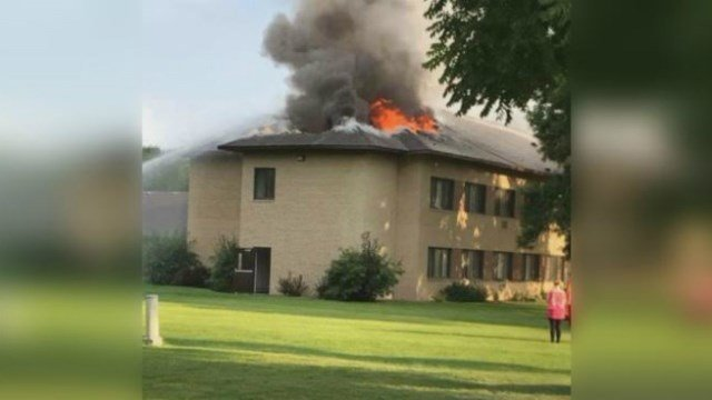 Wellington Estate Apartments fire on Aug. 5