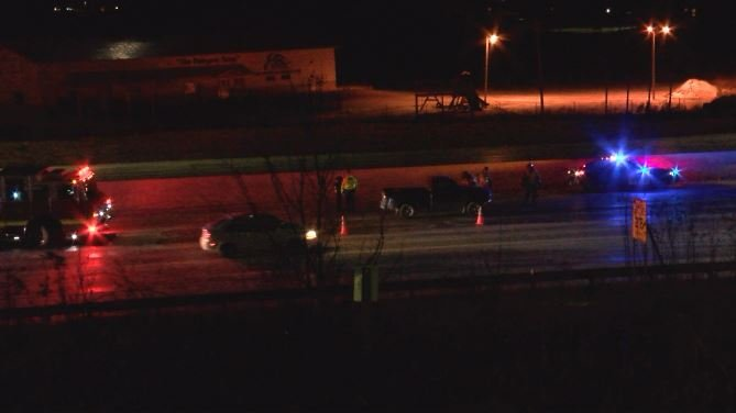 Two vehicle crash near 65th St. NW exit in Rochester