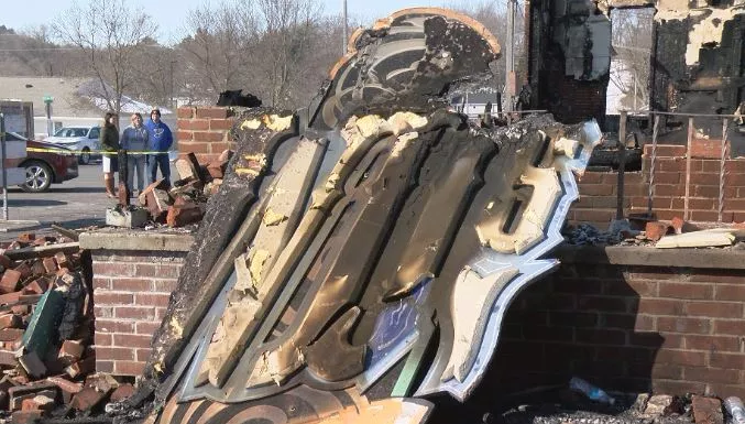 WD's Bar and Grill burned down early Sunday morning
