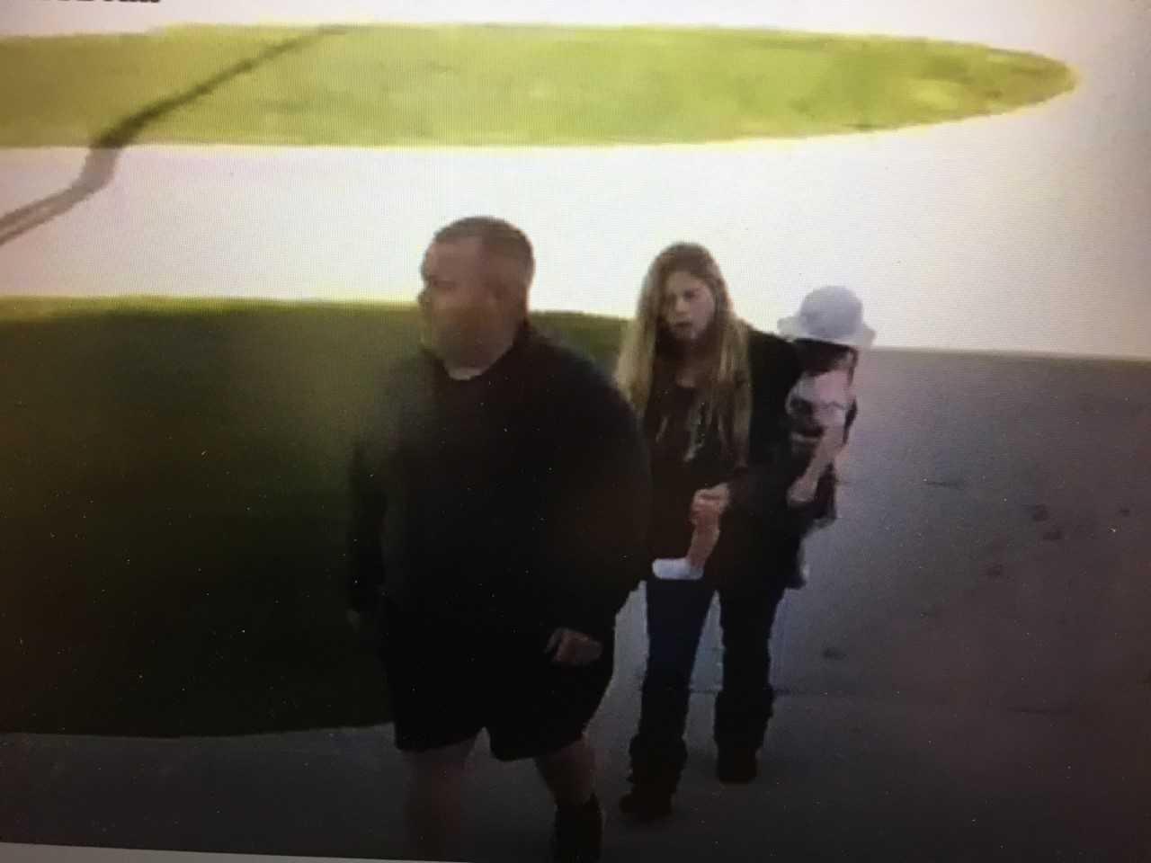 Photo from video surveillance in Iowa.