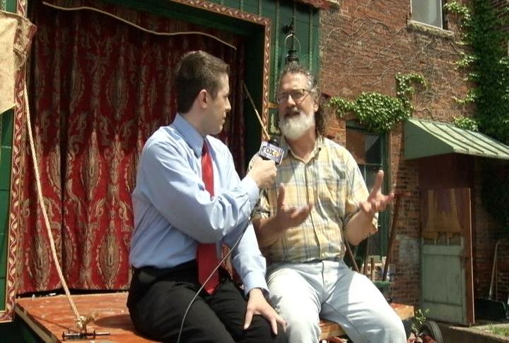 """Words Players Theatre's"" Daved Driscoll discusses ""Shakespeare in the Park"" at ""Rochesterfest"" with Nicholas Quallich."