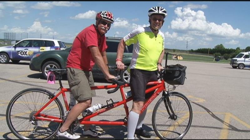 Don and Allan Fell are two brothers riding 500 miles for the Habitat 500.