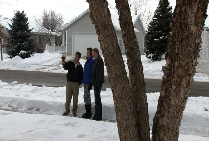 Nicholas Quallich joins Rochester native, Todd Osweiler, on a home energy audit.